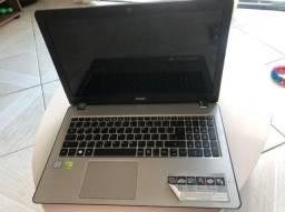 Notebook Acer Aspire F15 seminovo