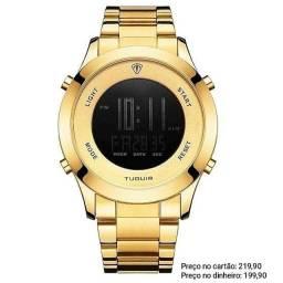 Relógio Masculino Importado Original Tuguir Sofisticado