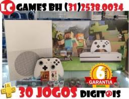 Xbox one s 1TB ou 500GB +30JOGOs +06 Meses Garantia