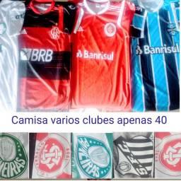 Camisas de clubes nacionais