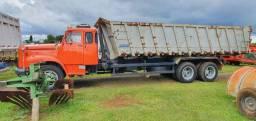 Scania 110 caçamba agricola graneleira