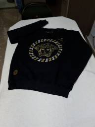 Camisa manga longa de moletom da Versace M