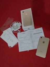 Título do anúncio: iPhone 7 64gb gold