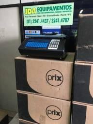 Balança digital com impressora código de barra - toledo - prix uno - supermercado