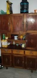Vendo estante em madeira, super conservada