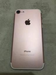 iPhone 7 rosê estado de zero 32gb