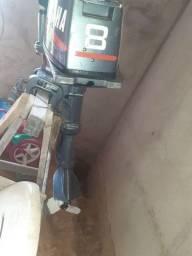 Vendo moto Yamaha 8hp