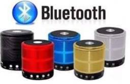 Mini Caixa de som completa com bluetooth radio entrada de pendrave