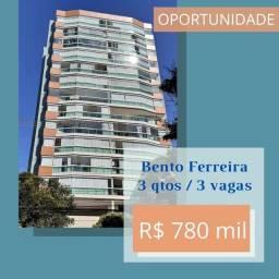 LINDO 3 QUARTOS COM SUITE EM BENTO FERREIRA - 3 VAGAS COBERTAS