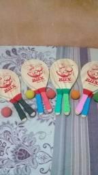 raquetes de frescobol