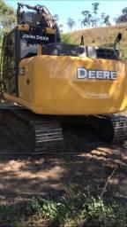 Escavadeira hidráulica john deere 130g