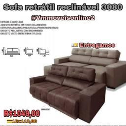 Sofá Retrátil reclinável Entrega em Aparecida de Goiânia e Goiânia Cartas dhd