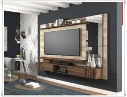 Promoção - Painel 100% MDF Murano com Espelhos Decorativos - Apenas R$899,00