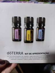 Kit de introdução óleos essenciais doTerra