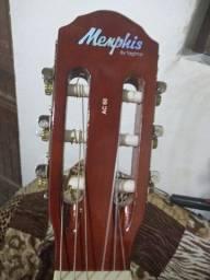Violão eletroacústico cordas de nylon Memphis by Tagima série AC-60