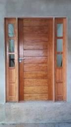 Portas madeira de fábrica