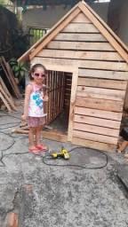 Título do anúncio: Casinha de criança  em palete