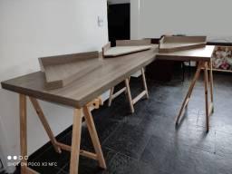 Mesa para Escritório em L  1,20 X 1,90