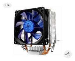 Cooler Processador Intel 775/1150/1151/1155 Amd Am2 Am3+ Am4 azul