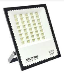 Super refletor luz led 200w completo mini  a prova de água ip67 grande promoção