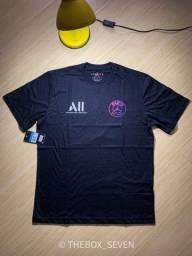 Camiseta Nike PSG x Jordan (descrição)