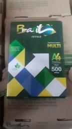 Papel A4 caixa com 10 resmas 165 reais