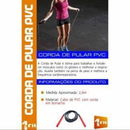 Corda De Pular Jump Crossfit Exercício Funcional Academia