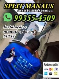 Título do anúncio: Instalação de split instalação de split limpeza de SPLIT limpeza de SPLIT