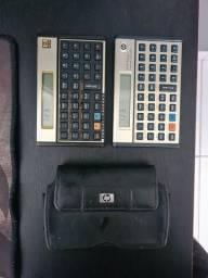 Título do anúncio: 2 Calculadoras HP12c/HP12c Prestige