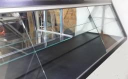 02 vitrines expositoras vidro e espelho, Pague em 3 vezes, Estado de nova,