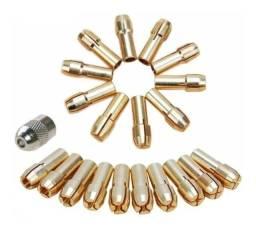 Pinça para Micro Retífica - Kit com 10 Pinças - Microretífica