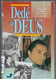 olx359 Livro Dedé de Deus - Dedé Santana