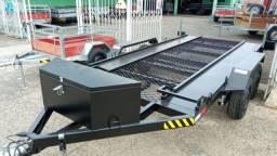 Carreta para UTV / Quadriciclo 4,00 x 1,85m - Reboque Zero KM - / Polaris / Fourtrax
