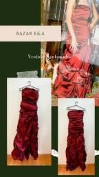 Título do anúncio: Vestido de festa Sanfonado Vermelho