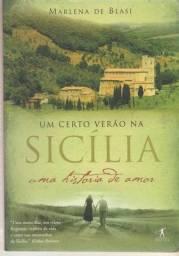 Livro Um Certo Verão Na Sicília 2009 Marlena De Blasi
