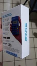 Maquineta aceita cartão débito e crédito