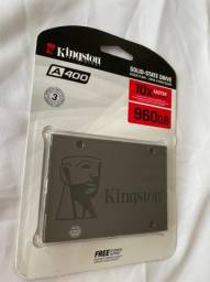 SSD Kingston A400, 960GB, SATA, Leitura 500MB/s, Gravação 450MB/s