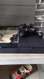 Ps4 500 GB, dois controles com alguns jogos. APENAS CHAT OL X VC