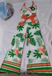 Macação pantalona