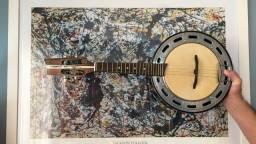 Título do anúncio: Banjo Marcelo Luthier (Casa do Banjo)