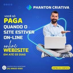 Título do anúncio: Criação de Sites - Promoção 12 X49,90