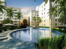 Apartamento térreo em condomínio com infra completa