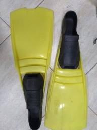 Nadadeiras pé de pato