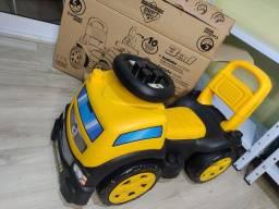 Caminhão Andador Baby Land Blocks Truck Menino - Brinquedo - Novo! Ainda na caixa!