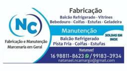 NC Refrigeração - Manutenção e Fabricação sob medida / Marcenaria em Geral
