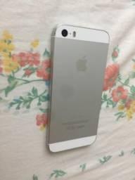 IPhone 5s branco 16 . Leiaaa