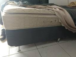Cama Solteiro BOX + Colchão