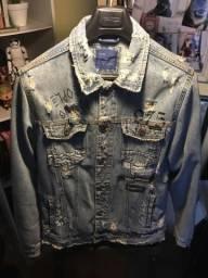 Jaqueta Jeans Zara Man em perfeito estado de nova