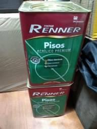 Tinta para piso da renner 18 litros cor Saibro