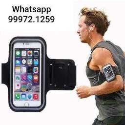 Braçadeira para celular ideal para esportes